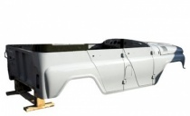 КУЗОВ УАЗ-31514 3-й комплектности под карбюраторный двигатель под тент 315120500001491
